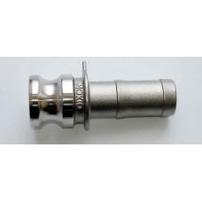 """Camlock тип E  1"""" (25 мм)  нержавеющая сталь 100ESS DIXON"""