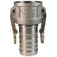 """Camlock тип C 1 1/4"""" (32 мм) нержавеющая сталь 125CSS DIXON"""