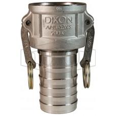 """Camlock тип C 1/2"""" (12 мм) нержавеющая сталь 50CSS DIXON"""